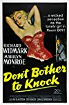 Don't bother to knock / Можешь не стучать